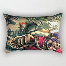 Bebop & Rocksteady Rectangular Pillow
