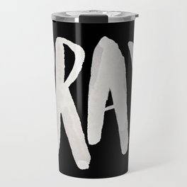 Pray Typography II Travel Mug
