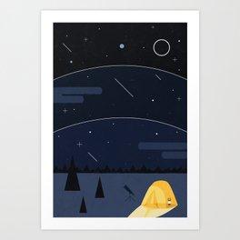 Underneath The Stars Art Print