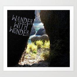 Wander With Wonder Art Print