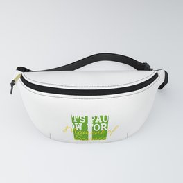It's A Pause T-shirt Saying Let's Pause Now For A Moment Of Science T-shirt Design Schooling  Fanny Pack