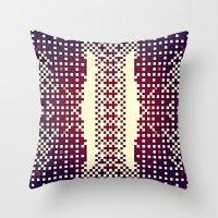 metropolis Throw Pillows featuring METROpolis by KUTOUT.crew