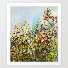 Golden Garden Art Print