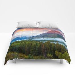 Glacier National Park Comforters