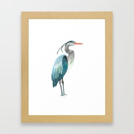 Great Blue Heron Framed Art Print