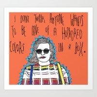 Peggy Olson Mad Men Art Print