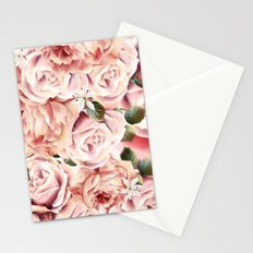 Magic rose garden Stationery Cards