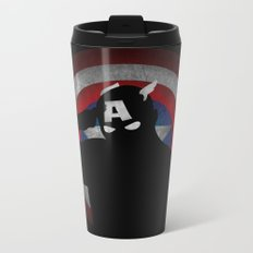 SuperHeroes Shadows : Captain America Metal Travel Mug
