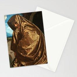 Giovanni Girolamo Savoldo Saint Mary Magdalene at the Sepulchre Stationery Cards
