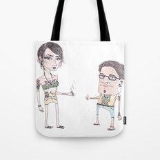 Summer People Tote Bag