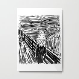 Ice Scream Metal Print