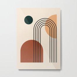 geometric abstract 59 Metal Print