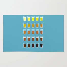 The Colors of Beer Rug