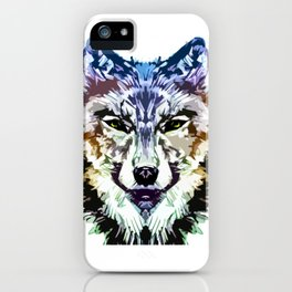 Wolf Icon 05 iPhone Case