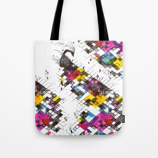 Ink Kaleidoscope Tote Bag