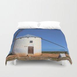 Spanish Windmill Duvet Cover
