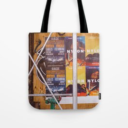 East Village Streets X Tote Bag