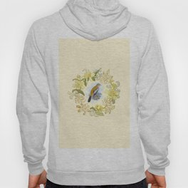 Vintage Floral Graphic Design. Hoody