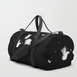 Goose feathers floating Duffle Bag
