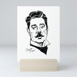 Giacomo Puccini Mini Art Print