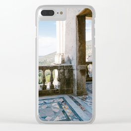 View on Landscape in Tuscany, Italy Clear iPhone Case