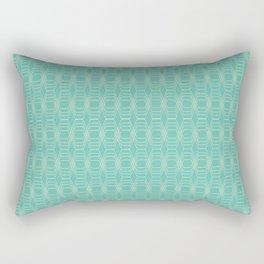 hopscotch-hex sea Rectangular Pillow