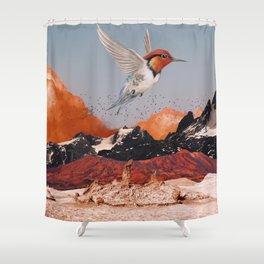 WINGS OF THE DESERT Shower Curtain