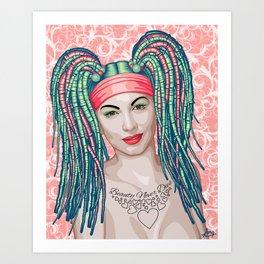Encomium: Ava Gardner Art Print