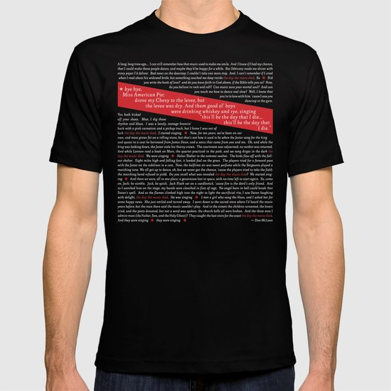 American Pie (all of it) T-shirt