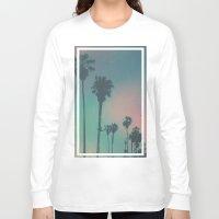venice Long Sleeve T-shirts featuring Venice Beach, CA. by Polishpattern