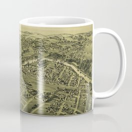Carnegie, Pennsylvania (1897) Coffee Mug