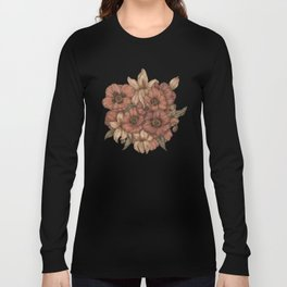 Poppies and Lilies Long Sleeve T-shirt