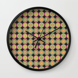 Wooden Mobile Wall Clock