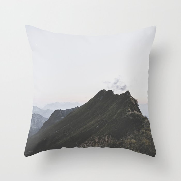 path - Landscape Photography Throw Pillow