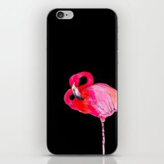 Fancy Flamingo iPhone & iPod Skin