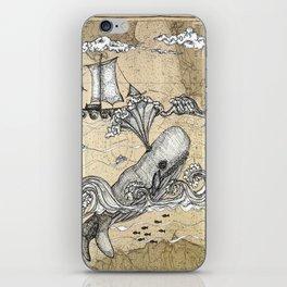 Vintage Whaler iPhone Skin