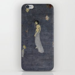 Lingering in the ups and downs of the sound. iPhone Skin