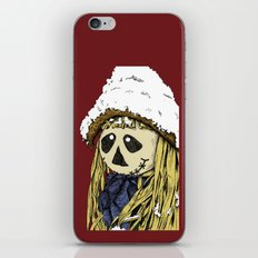 Friendly Scarecrow - Color Version iPhone & iPod Skin