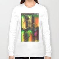 random Long Sleeve T-shirts featuring Random by John Hansen