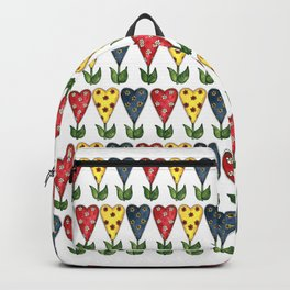 Hearts & Flowers Backpack