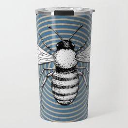 Pop Art  Bee Travel Mug