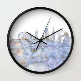 London Skyline Great Britain Wall Clock