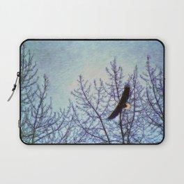 On Winter's Winds Laptop Sleeve