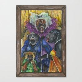 Simian Sirens Canvas Print