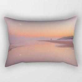 A winters morning Rectangular Pillow
