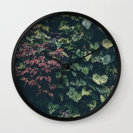 Summer Paradise Garden Wall Clock