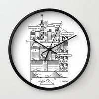 tokyo Wall Clocks featuring TOKYO by Design Made in Japan