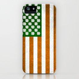 Irish American 015 iPhone Case