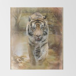 Tiger Throw Blanket From Society6