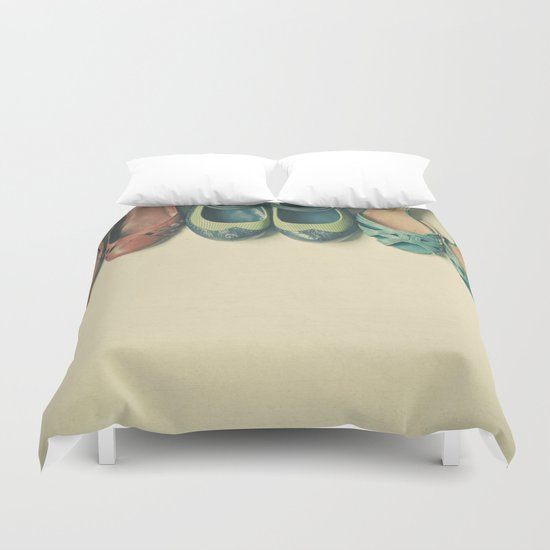 The Shoe Collection Duvet Cover
